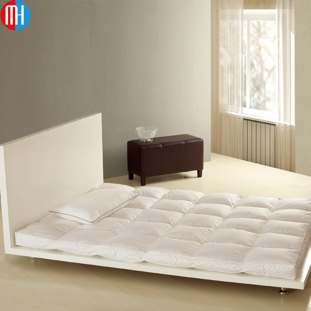 Import hotel king size mattress ( fill with goose down feather)