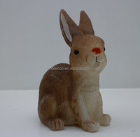 LED Flameless Yellow Flickering Rabbit-shaped Carved Candles Easter Day Decor