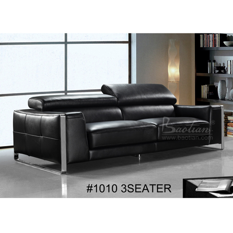modern design italian style sofa leather black buy