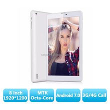 3G Octa Core Tablet PC 8inch IPS Screen Android 4.4 MT8392 ARM A7 3G Phone Call 1280*800