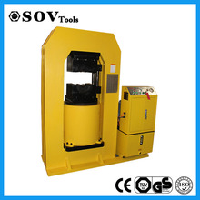 Hydraulic press machine for steel wire rope sling