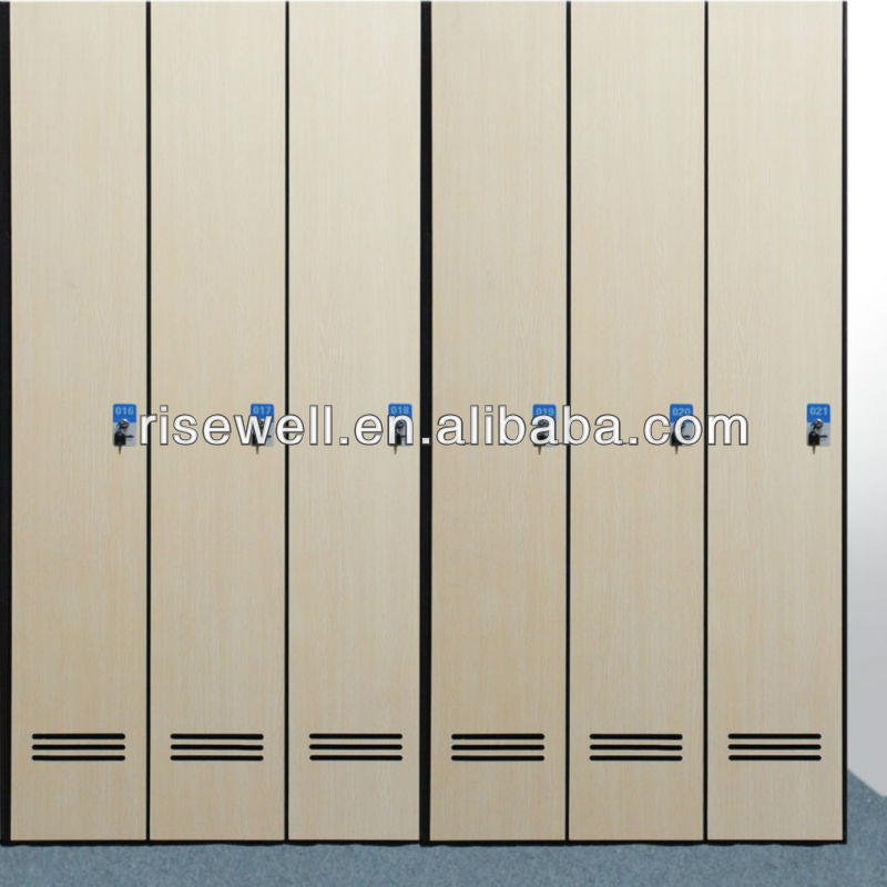 Quality antibacterial hospital locker system
