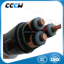 XLPE insulation material power cable construction 3 phase electrical cable prices pictures
