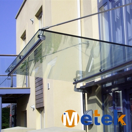 Mordern style stainless steel metal parking canopy
