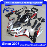 FFKAP005 High Quality ABS Motorcycle Fairings For Sale RS4 50 RS4 125 2011-2014 Silver Black