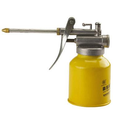 Flex Grease Gun Tools Lubrication Oil Can High Pressure Pump Oiler Oilcan