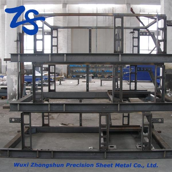 Wholesale steel welded parts, custom stainless steel fabrication, cutting laser