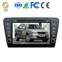 Android 7 inch capacitive android car special for Skoda Octavia support Bluetooth 16G ROM DVR