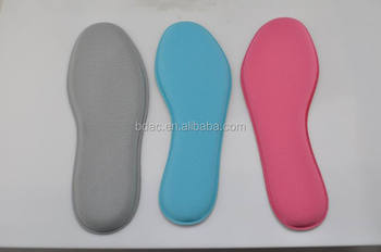 comfort breathable custom memory foam shoe insoles