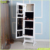 Goodlife New White wooden mirror jewelry cabinet mirror cabient storage for women