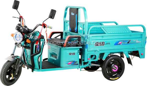 Battery china electric auto rickshaws with cargo models