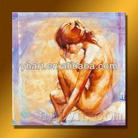 Newest Design Women Body Nude Oil Painting For Decor