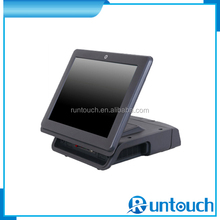 Runtouch RT-6700A Touch Screen EPOS Buit-in Customer Display POS Pre loaded Programmable Keyboard with MSR