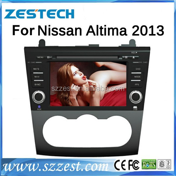 ZESTECH Factory supply for nissan altima touch screen navigation with high quality