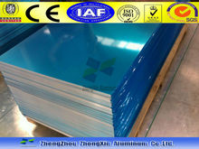 Color cladding aluminum sheet with blue PE coated/protective film