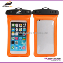 [Somostel] 2015 New Product For Iphone 6 Waterproof Mobile Phone Case/ Phone PVC Waterproof Dry Bag For Swimming