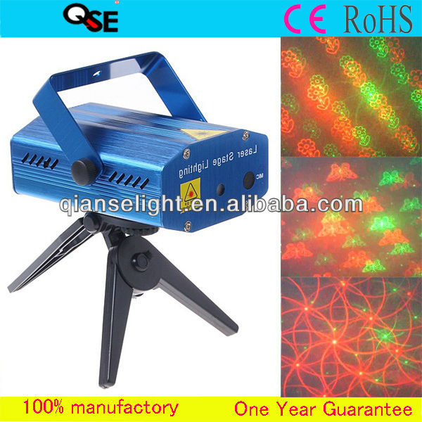 Professional Stage Laser Light Show Cheap Red & Green Real Laser Generator Mini Auto 12V Laser Lighting