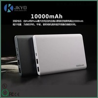High capacity Li-polymer battery power bank 10000mAh external rechargeable battery for smartphone/MP3/GPS/iPad