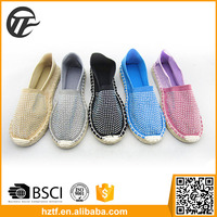 China supplier thick sole canvas shoe maker