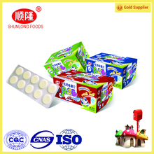 Shunlong Dried Milk tablet candy for OEM