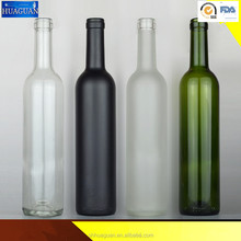 Wine glass bottle blue color wine glass bottle wholesale red wine glass bottle factory wholesale