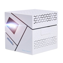 2017 New Products DOOGEE Smart Cube P1 Mini WiFi Smart DLP <strong>Projector</strong>, Android 4.4 dlp <strong>projector</strong> Cheap dlp <strong>projector</strong> full hd