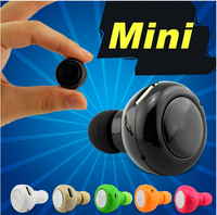 MINIA V4.0 Super Mini Smart Wireless Earphone Voice Control Noise Reducing Music Universal Stereo Headset Headphone