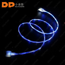 visible flow led light usb charging sync cable for multi-function usb charger cable extension cable for mobile phone charger