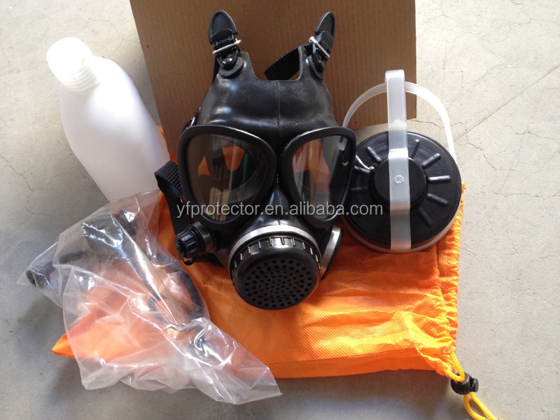 army gas mask with filter/anti riot gas mask/gas mask with wide vision