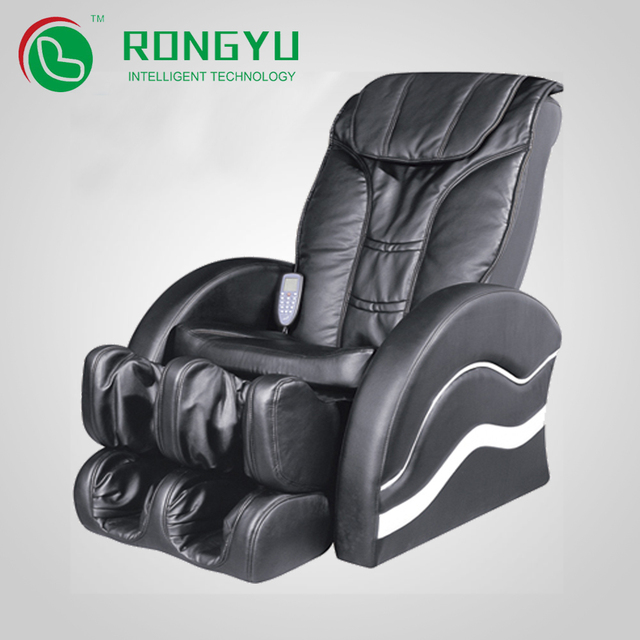 Stylish cheap 3D 4 wheels medical airbag massage chair