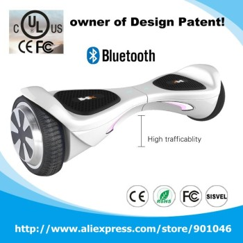 UL2272 Certificated Bluetooth two wheel smart balance electric scooter 6.5 Inch smart drifting scooter e scooter