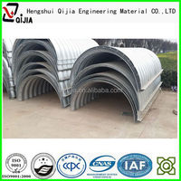 Used in bridge culvert corrugated culvert manufacture road culvert and construction material export China supplier in alibaba