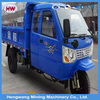 water cooling closed cargo three wheel cargo tricycle with cabin
