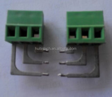 Special design green connectors pitch 5.0mm screw terminal blocks
