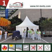 Luxury strong and durable waterproof UV resistent outdoor clear span aluminum works tent
