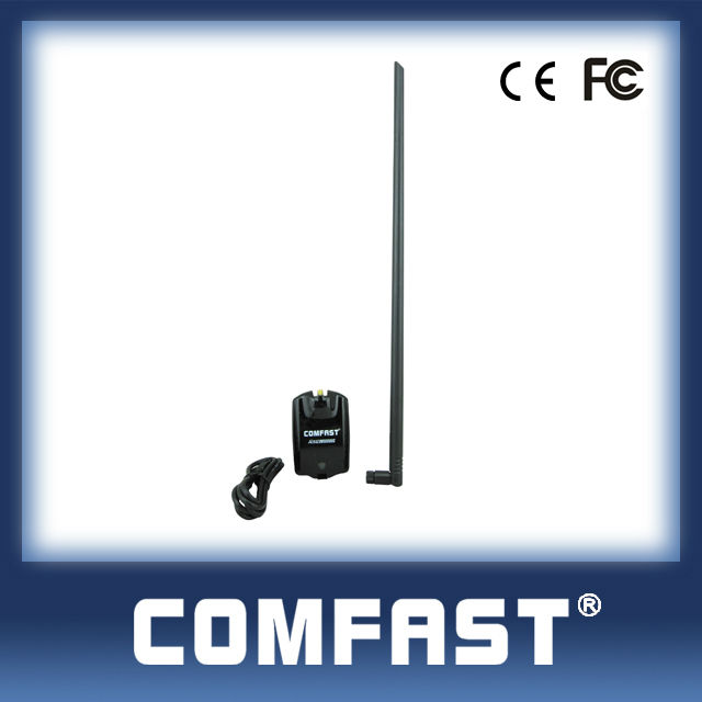 RTL8187L 54Mbps high power usb wireless wifi adapter+13dBi external antenna comfast CF-1300UG