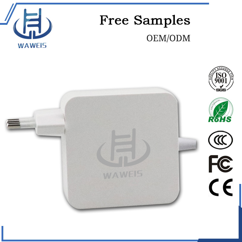 16.5V 3.65A 60w for Apple Laptop Power AC/DC Adapter with US/AU/EU/UK plug