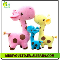 Plush Stuffed Flecky Giraffe Toy