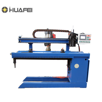 Automatic Key Type Longitudinal Seam Welding Machine With Clamp