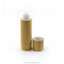 Environment natural bamboo wooden cosmetics 3g 3ml 5g 5ml Lip gloss lipstick bottle