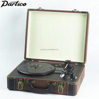2016 Suitcase turntable/belt drive vintage vinyl record player/usb sd player/DS-101 Discount Free Inspection