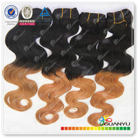 Cheap hair products grade 6A Wholesale virgin brazilian x pression hair
