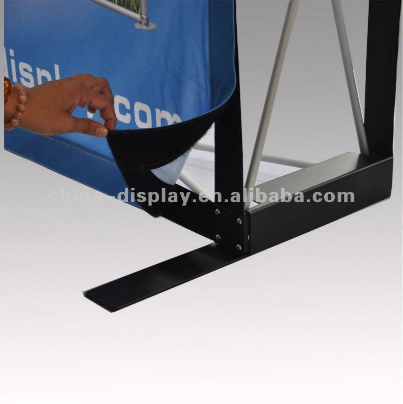 Caliente venta marco de aluminio portátil tela Pop up de ...