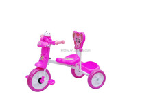 Ride On Toy Style and PP Plastic Type Hot sale cheap baby tricycle new models with music and light