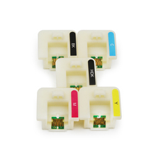 Ocinkjet 5 Warna/Set F Series Chip Hoder untuk Epson F6070 F7070 F7000 F6000 F6200 F7200 Printer