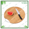 healthy and natural bamboo round chopping board