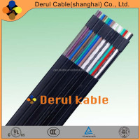 derulkable customized TVVBG TVVBP TVVBPG flexible flat cable for elevator