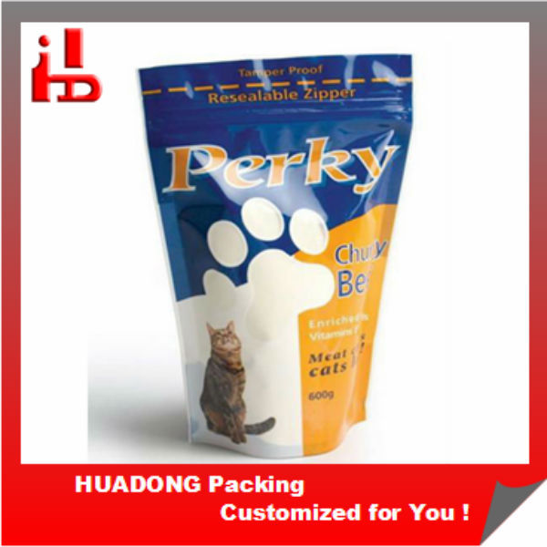 Zipper Top Sealing & Handle and Accept Custom Order stand up pouches