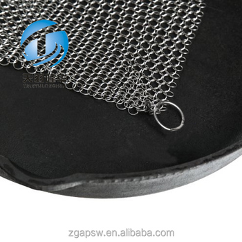 Durable 7x7 Stainless Steel Scrubber