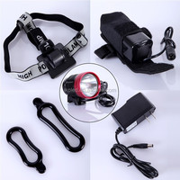 Rechargeable XML T6 LED dirt bike motorcycle led bicycle light universal vision headlight( CE&RoHS)